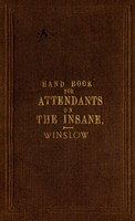 view Handbook for attendants on the insane