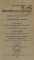 view A dictionary of practical surgery: containing a complete exhibition of the present state of the principles and practice of surgery, collected from the best and most original sources of information, and illustrated by critical remarks (Volume 2).