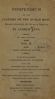 view A compendium of the anatomy of the human body: intended principally for the use of students (Volume 2).