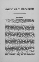 view Dentition and its derangements : a course of lectures delivered in the New York Medical College / by A. Jacobi.