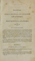 view Manual of general, descriptive, and pathological anatomy (Volume 2).