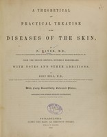 view A theoretical and practical treatise on the diseases of the skin / by P. Rayer.