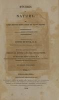 view Studies of nature (Volume 1).