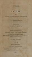 view Studies of nature (Volume 2).