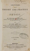 view Lectures on the theory and practice of physic (Volume 1).
