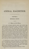 view A practical manual of animal magnetism : containing an exposition of the methods employed in producing the magnetic phenomena, with its application to the treatment and cure of diseases / by Alphonse Teste ; translated from the second edition by D. Spillan.