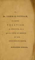 view A treatise on the epidemic puerperal fever of Aberdeen / by Alexander Gordon.