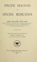view Specific diagnosis and specific medication