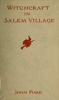 view Witchcraft in Salem village