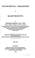 view Experimental researches in electricity. Vol. 3