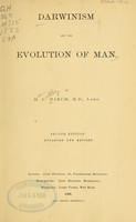 view Darwinism and the evolution of man