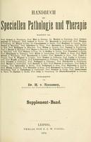 view Handbuch der speciellen Pathologie und Therapie / herausgegeben von H. v. Ziemssen.