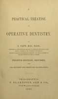 view A practical treatise on operative dentistry