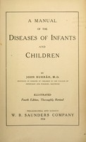 view A manual of the diseases of infants and children.