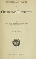 view Principles and practice of operative dentistry.