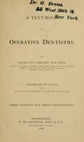 view A text-book of operative dentistry