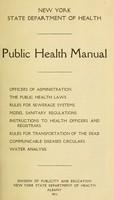 view Public health manual.