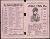 view The Carbolic Smoke Ball : for inhalation only : will positively cure colds, cold in the head, cold on the chest, catarrh, asthma, bronchitis ...  / Carbolic Smoke Ball Company.