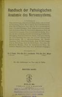 view Handbuch der pathologischen Anatomie des Nervensystems / Edited by E. Flatau, L. Jacobsohn and L. Minor.