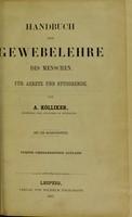 view Handbuch der Gewebelehre des Menschen fur Aerzte und Studierrende.