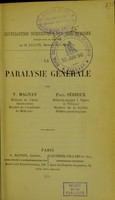 view La Paralysie generale.