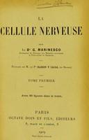 view La cellule nerveuse.