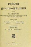 view Histologische und histopathologische Arbeiten uber die Grosshirnrinde mit besonderer Berucksichtigung der Geisteskrankheiten.