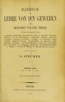 view Handbuch der Lehre von den Geweben des Menschen und der Thiere.