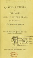 view Clinical lectures on paralysis, disease of the brain, and other affections of the nervous system.