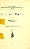 view Die Migrane / von Edward Flatau.