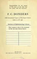 view On the anomalies on accommodation and refraction of the eye : with a preliminary essay on physiological dioptrics / by F. C. Donders ; translated from the author's manuscript by William Daniel Moore.
