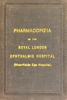 view The pharmacopoeia of the Royal London Ophthalmic Hospital (Moorfields Eye Hospital).