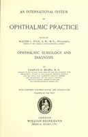view An international system of ophthalmic practice / edited by Walter L. Pyle.