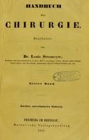 view Handbuch der Chirurgie / bearbeitet von Dr. Louis Stromeyer.