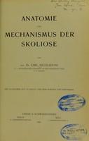 view Anatomie und Mechanismus der Skoliose / von Dr. Carl Nicoladoni.