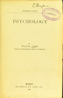 view Psychology : briefer course / by William James.