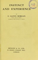 view Instinct and experience / by C. Lloyd Morgan.