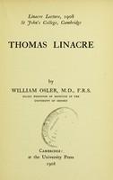view Thomas Linacre
