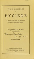 view The principles of hygiene : a practical manual for students, physicians, and health officers
