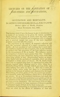 view [Lectures on the sanitation of industries and occupations].