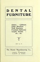 view Catalogue / The Dental Manufacturing Co. Ltd.