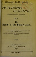 view The health of the blood-vessels
