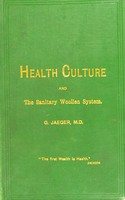 view Selection from essays on health-culture and the sanitary woollen system