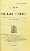 view Manual of military cooking