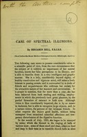 view Case of spectral illusions / by Benjamin Bell.