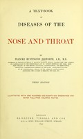 view A text-book of diseases of the nose and throat