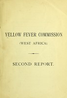 view Second report / Yellow Fever Commission (South Africa).