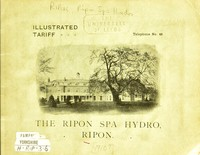 view Ripon Spa Hydro : a health and holiday resort.