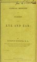 view Clinical medicine and surgery of the eye and ear / by Laurence Turnbull.