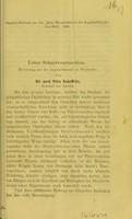 view Ueber Sehnervenresection / von Otto Scheffels.